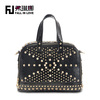 Hot sale 2014 latest new fashion women leather handbag crocodile PU bag made in China