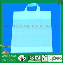 Biodegradable fashion name brand shopping bags