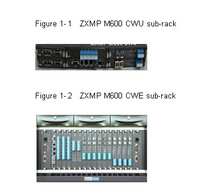 ZXMP M600 - A Compact CWDM product, which features large optical transmission capacity and implements transparent transmission