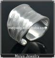 venta caliente de la moda brazalete de plata anillo