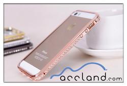 Fashion Mobile Rhinestone Phone Case for iPhone 5 5S