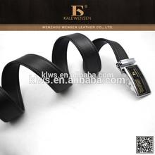 Smart buckle belt 2014 mens flat reversible buckle belt