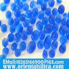Allochroic silica gel desiccant