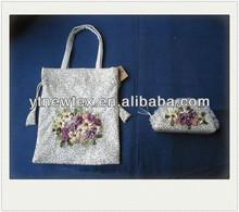 2015 china wholesale new design hand knit bag