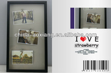 2014 New and Sweet Design Photo Frame Various Color Vertical 3 clips and photos