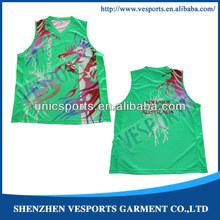 Wicking Design Basketball Team Wears Uniforms