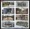 China manufacturer aluminium apartment modern mian gate designs
