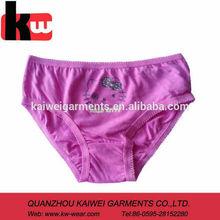 Pink 100 Cotton Girls Underwear Full Brief Girls Wearing Panty