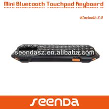 2.4G Wireless mini keyboard bluetooth rohs with touchpad