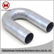 Precision 180 degree tube bending
