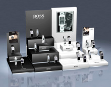 Custom design Acrylic Watch Display Counter