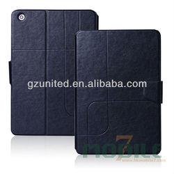 High end original mini case For Apple ipad mini 2 case wallet pouch