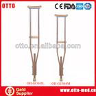 underarm crutches wooden cane walking stick