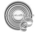 Round Bottom Cake Pans / Aluminum Alloy Round Cake Pans