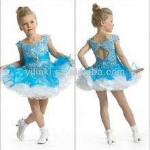 Girls Party Dress Ball Gown off the Shoulder Mini Lovely Heavy Beaded 2012 New Design Flower Girl Dress