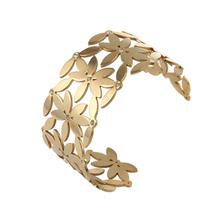 312 24h SALE Stainless Steel Jewelry / charm bracelet Vintage Gold Bangles /ions power bracelet charm bracelet