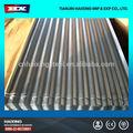 De alta calidad de zinc& de aluminio corrugado para techos de hoja