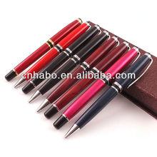 Habo promotional pens castell custom logo liquid filled pen 9328-1
