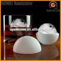 esfera de silicona de hielo molde de la bola con la cubierta