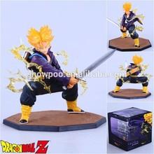 Anime Action Figure DRAGON BALL TRUNKS Action Figure Wholesale Fashion Anime Cos Hot Dragon Ball Figure