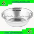 großhandel chinesischen lieferanten 22cm Durchmesser gute Qualität und günstigen preis edelstahl suppenschüssel