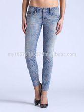 Skinny Stretchy Low Waist Denim Jeans for Women (High Quality)