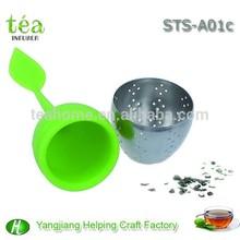 silicone tea set tea strainer stainless steel chinese tea set