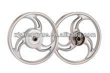 polishing cheap motorcycle wheels