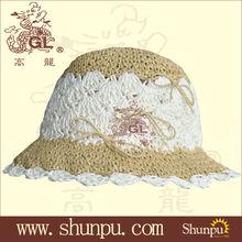 lady's paper straw hat