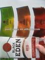 şarap logo etiketi, bira talimat etiket
