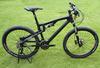 High-end 30 speed carton fiber full suspension cycling bike