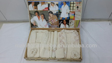 Hotel couple pure cotton bathrobes and household lover bathrobes high quality low cost