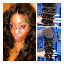 New arrival best seller virgin mongolian lace closure