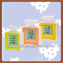 YD8060 colorful melting clock design for kids