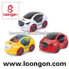 Loongon 3D LIGHT,MUSIC Kids Mini Racing Car Toy Car Electric Tint