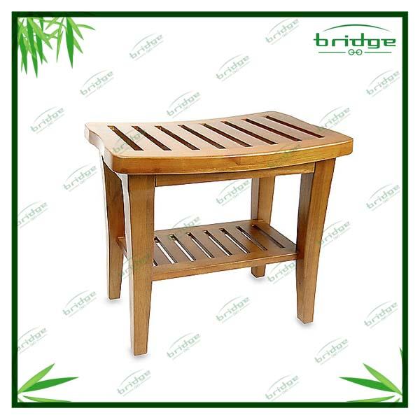 Bois de bambou de douche banc salle de douche id du for Banc en bambou salle de bain