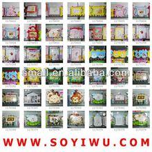 la huella de baby marco del fabricante de yiwu mercado para el marco