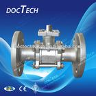 3-PC Ball Valve Flange End ,150LB/300LB,PN16-40,,From Alibaba Manufacturer