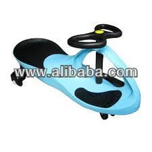 Plasma Wiggle Car Toy Ride on Swivel Swing Scooter Bike without Pedals