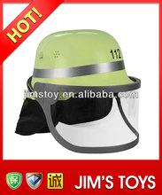 New product 2014 wholesale plastic toy helmet used fire helmet