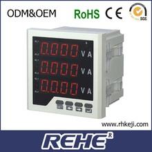 Vendere combinazione amperometro e voltmetro digitale tester di pannello I/u metro