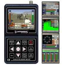 """SATFINDER 5HD SLIM SF-05HDS / 3.5"""" LCD DVB-S2 SATELLITE SIGNAL METER REAL FAST SPECTRUM"""