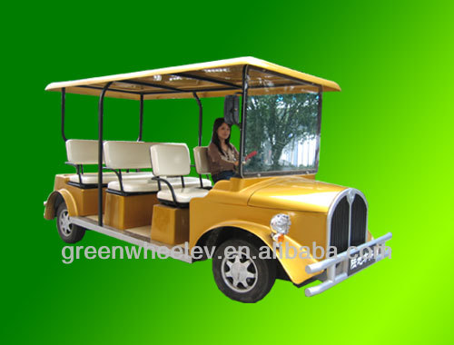 Environmental Protection Electric Sightseeing Vehicle with factory direct sales price electric golf vehicle