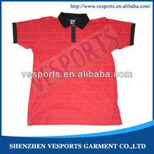 custom sublimation polyester polo shirts