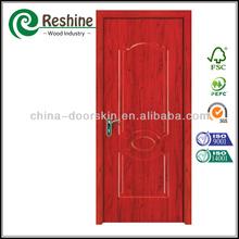 HDF melamine molded cabinet door skin