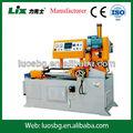 Automática servo motor de alimentação praça/tubo redondo da máquina serra circular lyj-475ncb