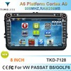2 Din Car DVD for VW Passat B6/GOLF 6 with GPS, Bluetooth, RDS,3G support, Cortex A9, DVB-T/ISDB-T(optional),--TKD-7128