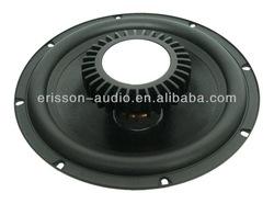 10 inch car loudspeaker subwoofer with neodymium magnet , high power 10'' subwoofer