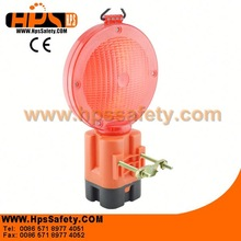 Red Color Plastic LED Road Warning Flasher For Road Safety Warning