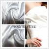 pure white satin wedding dresses fabric